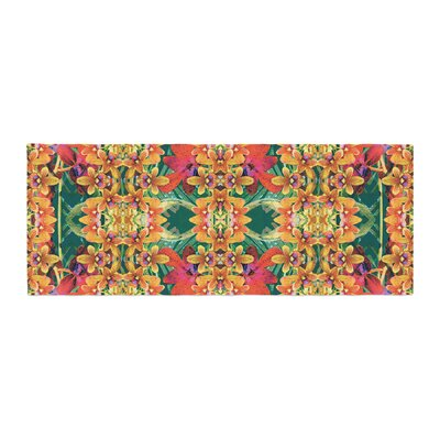 Dawid Roc Tropical Floral Bed Runner