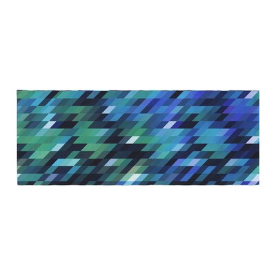 Dawid Roc Geometric City Digital Bed Runner
