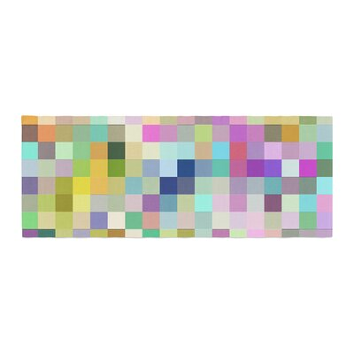 Dawid Roc Colorful Pixels Bed Runner