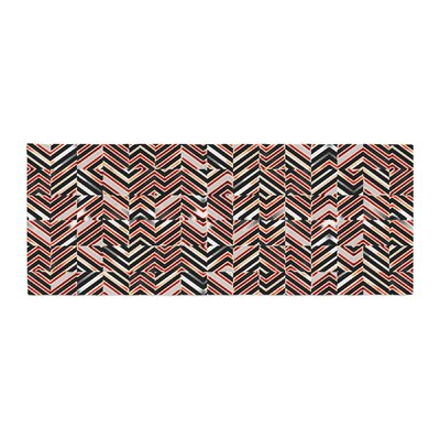 Dawid Roc Maze Geometric Abstract 1 Bed Runner