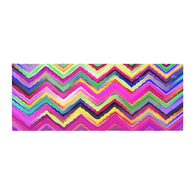 Dawid Roc Colorful Chevron Bed Runner