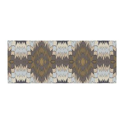 Akwaflorell Papercuts Geometric Bed Runner
