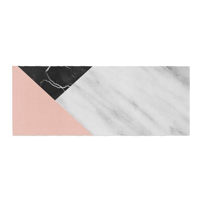 Cafelab Marble Collage With Pale Bed Runner