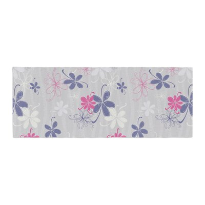 Emma Frances Lively Blossoms Bed Runner
