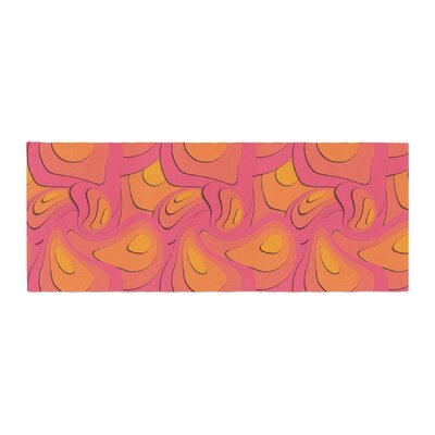 Akwaflorell Fly Away Sadness Abstract Bed Runner
