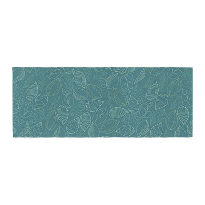 Emma Frances Autumn Leaves Bed Runner