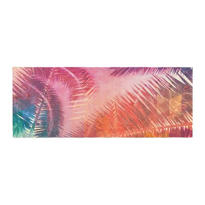Cafelab Pop Tropical Abstract Bed Runner