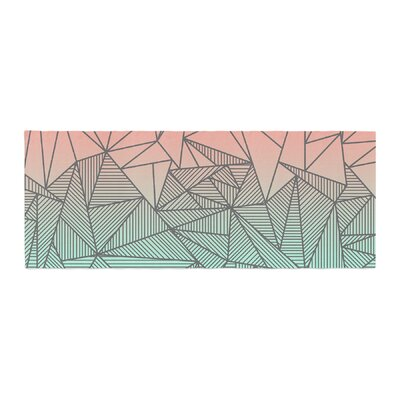 Fimbis Bodhi Rays Geometric Illustration Bed Runner