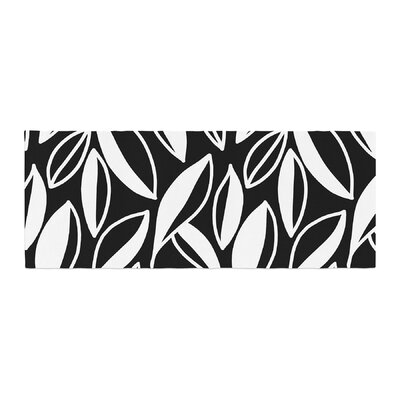 Emine Ortega Leaving Bed Runner Color: Black/White