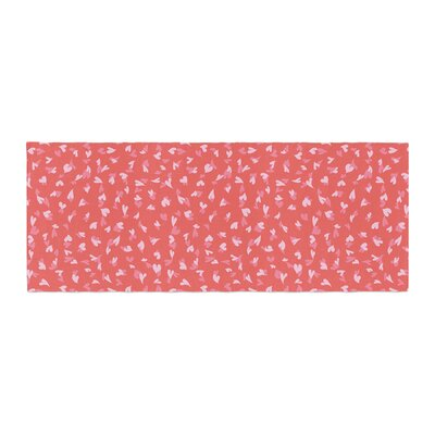 Emma Frances Love Confetti Bed Runner