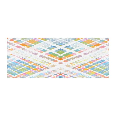 Frederic Levy-Hadida Losanges 2 Digital Bed Runner