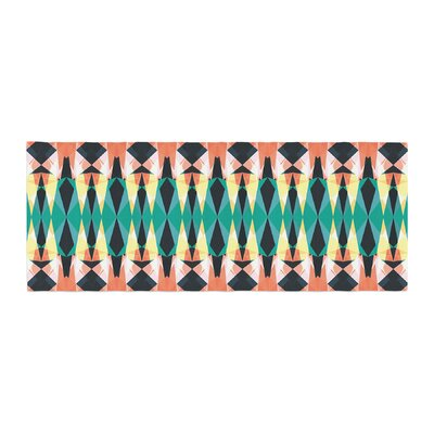 Akwaflorell Triangle Visions Bed Runner