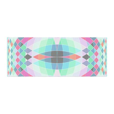 Fimbis Jazar Abstract Geometric Bed Runner