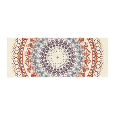 Famenxt Vintage Mandala Bed Runner
