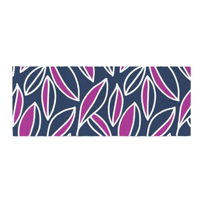 Emine Ortega Leaving Bed Runner Color: Magenta