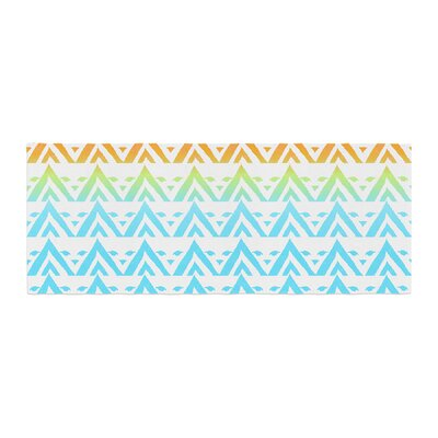 Frederic Levy-Hadida Antilops Pattern Chevron Bed Runner