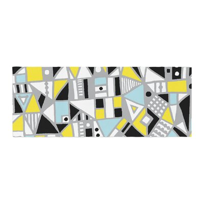 Emine Ortega Fun Geo Too Bed Runner