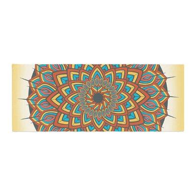 Famenxt Floral Mandala Geometric Bed Runner