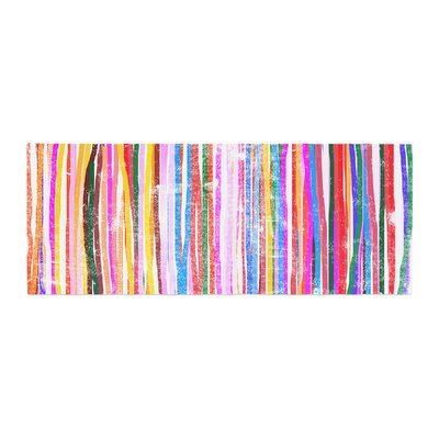 Frederic Levy-Hadida Fancy Stripes Bed Runner Color: Pastel