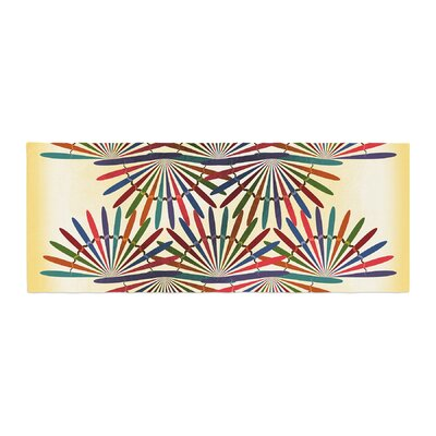Famenxt Colorful Abstract Pattern Bed Runner