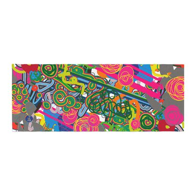 Frederic Levy-Hadida Psychedelic Garden Bed Runner