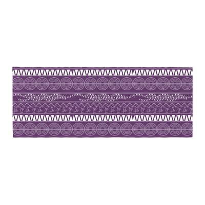 Famenxt Pattern Abstract Bed Runner
