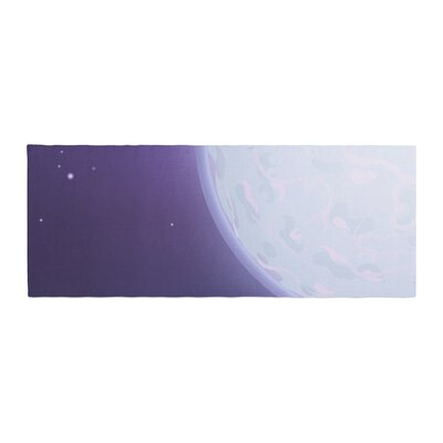 Fotios Pavlopoulos Full Moon Night Sky Bed Runner