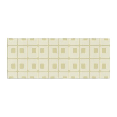 Fotios Pavlopoulos Squares in Square Shapes Bed Runner