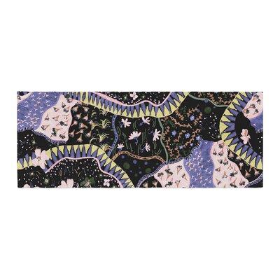 Fernanda Sternieri Oriental Patchwork Pattern Bed Runner