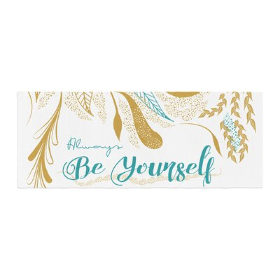 Famenxt Always Be Yourself Bed Runner
