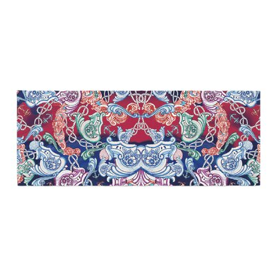 Fernanda Sternieri Barroque Sea Abstract Bed Runner