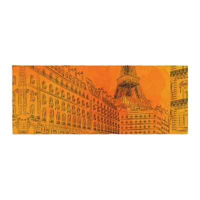 Fotios Pavlopoulos Parisian Sunsets City Bed Runner