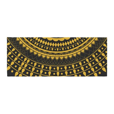 Famenxt Vibes Mandala Digital Bed Runner