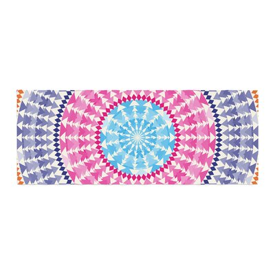 Famenxt Mandala Illustration Bed Runner