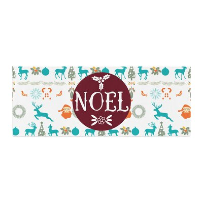 Famenxt Noel Digital Bed Runner