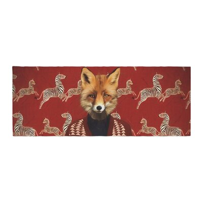 Natt Family Portrait N1 Fox Bed Runner