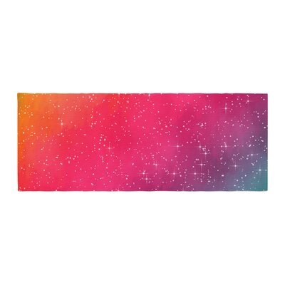 Fotios Pavlopoulos Colorful Constellation Glam Bed Runner