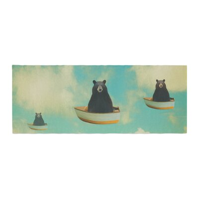 Natt Bears Floating Animals Bed Runner