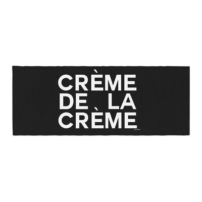 Geordanna Cordero-Fields Creme De La Creme Bed Runner