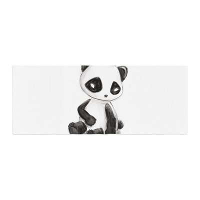Geordanna Cordero-Fields My Panda Sketch Bed Runner