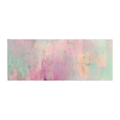 Geordanna Fields Serene Nebula Painting Bed Runner