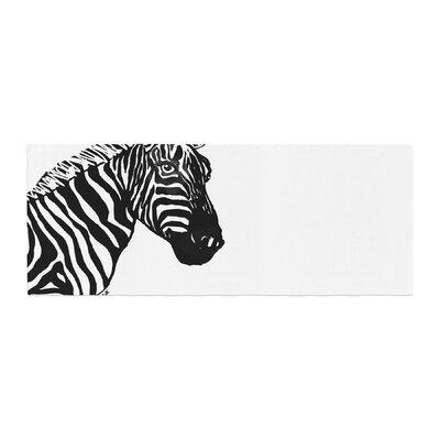 Geordanna Cordero-Fields My Zebra Head Bed Runner