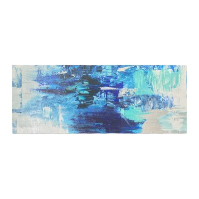Geordanna Fields Walked on Water Abstract Bed Runner
