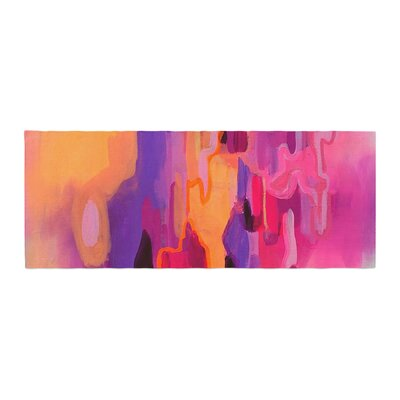 Geordanna Fields Pungent Euphoria Abstract Bed Runner
