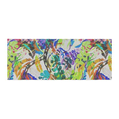 Gabriela Fuente Flow Floral Bed Runner