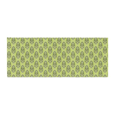 Holly Helgeson Deco Flourish Pattern Bed Runner