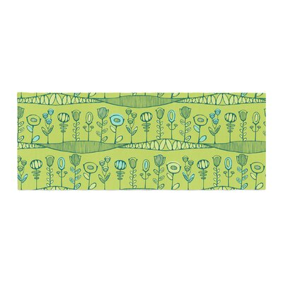 Holly Helgeson Hattie's Garden Floral Bed Runner