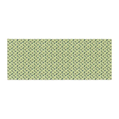 Holly Helgeson Flutterby Lime Bed Runner