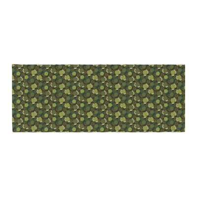 Holly Helgeson Camillia Dark Forest Bed Runner