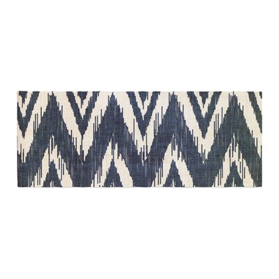 Heidi Jennings Tribal Chevron Bed Runner Color: Black